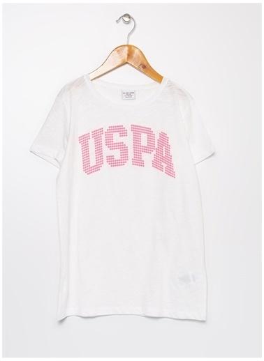U.S. Polo Assn. U.S. Polo Assn. Beyaz Kız Çocuk T-Shirt Beyaz